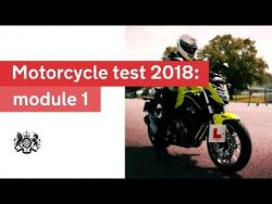 Motorcycle test 2018 - module 1: official DVSA guide