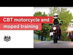 CBT moped/motorcycle training 2018: official DVSA guide